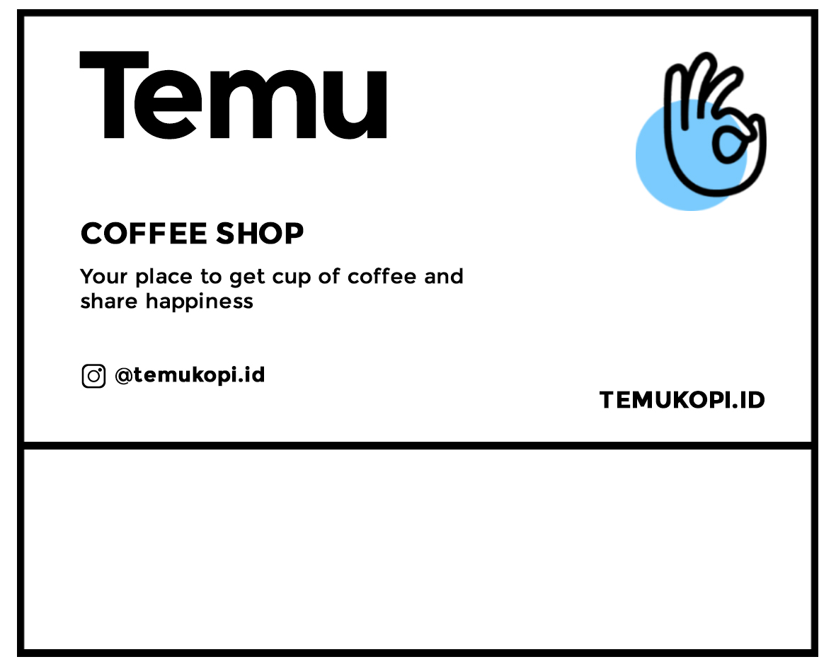 DESIGN BRANDING : Temu Coffee