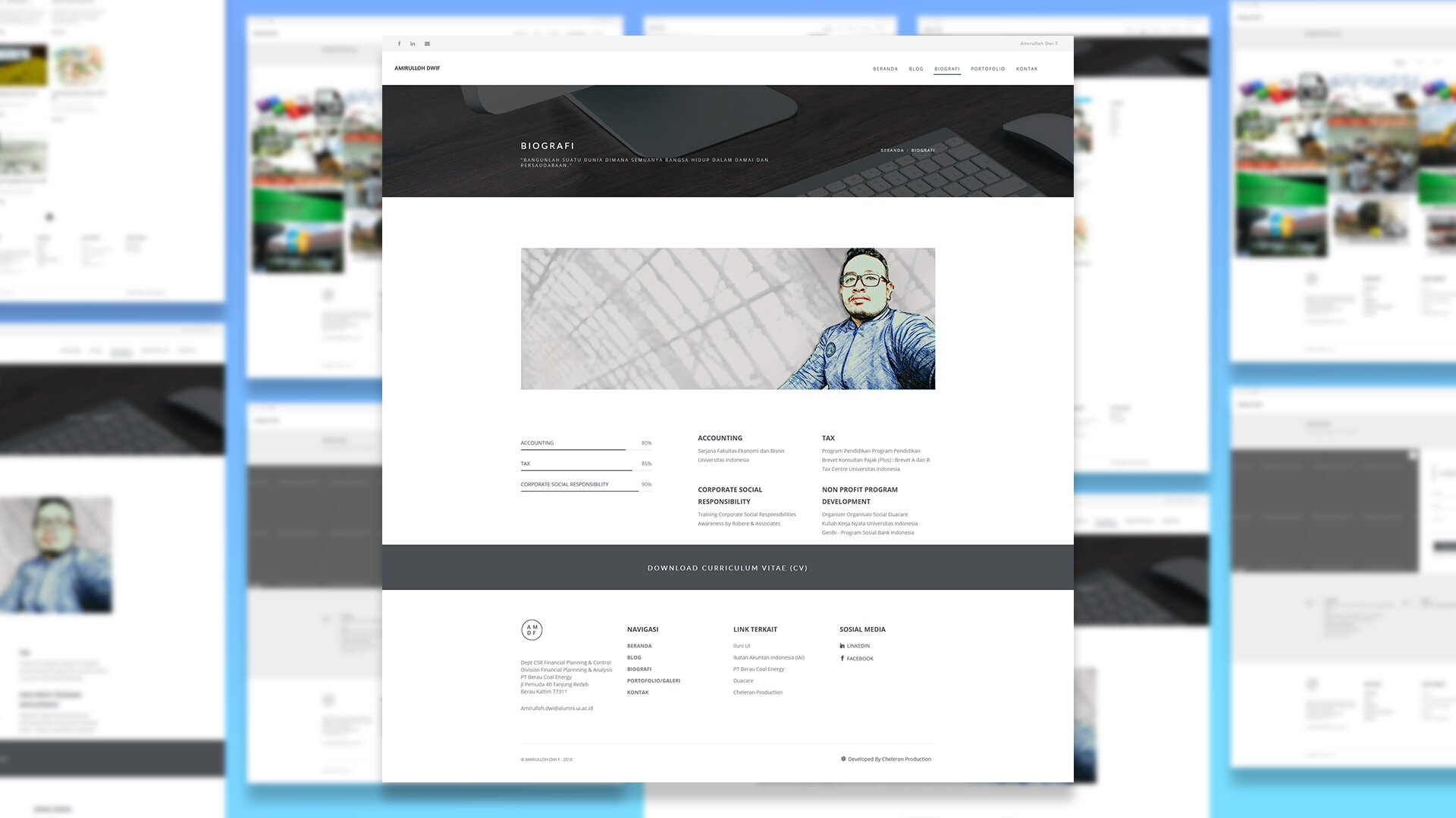Personal Website - Amirulloh